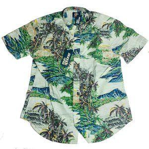 Reyn Spooner Mens Hawaiian Shirt Size XXL Diamond